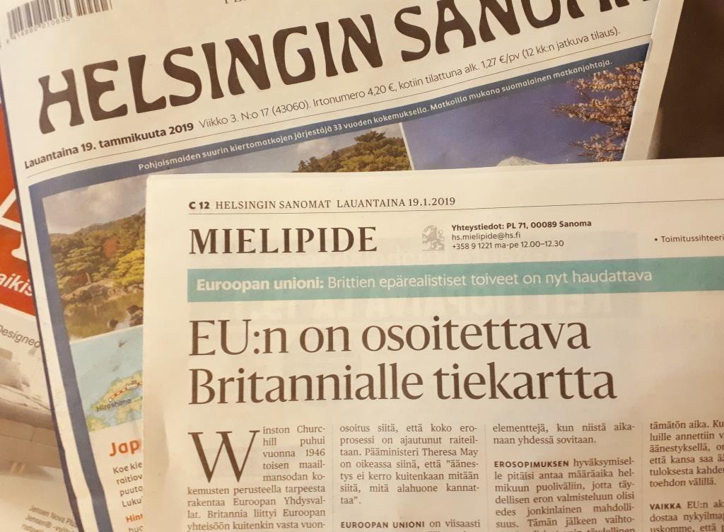 Kimmo Sasi ja Pertti Salolainen Brexitista